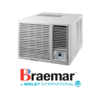 Braemar KWHF39D1S 3.9kW R32 Reverse Cycle Window Wall System