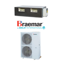 Braemar SDHV07D1S 7.0kW Single Phase Ducted System