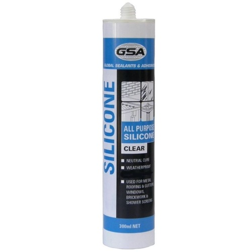 Silicone Sealant 300ml Clear